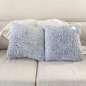 Nordstrom Accents | 2 Sherpa Pom Faux Fur Pillows